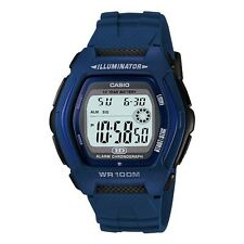 HDD-600C-2A Blue Casio Unisex Watches Digital Resin Bands (No Box)