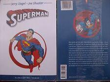"LIBRO-COMIC ""CLASICOS DEL COMIC"" DE SUPERMAN A TODO COLOR"