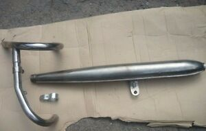 Stainless exhaust system assembly for motorcycle URAL.(NEW)