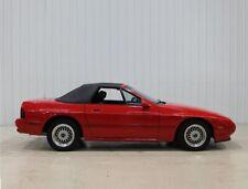 Mazda RX-7 1988-1992 Convertible Top Black Pinpoint Vinyl