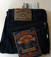 CIRCA Skateboard JEANS New Skate Blue 24 Denim BMX Kids Childs Dry Rince relaxed