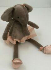 Jellycat Dancing Darcey Elephant Ballerina Plush Toy Beanie Satin Shoes Tutu