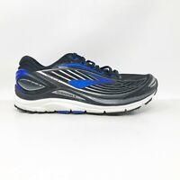 Brooks Mens Transcend 4 1102491D002 Black Blue Running Shoes Lace Up Size 7.5 D