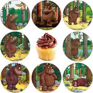Gruffalo Edible Cake Topper Premium Wafer Paper Birthday Party Deco New Muffin