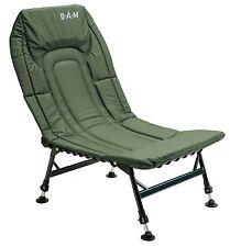 DAM Luxe Aluminium Chaise carpe Charnière de pêcheur camping