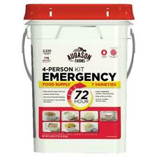 Emergency 4 Person  72 Hour Food Supply Kit  Storage Quick Meal Survival Bucket