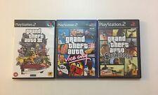 Grand Theft Auto Game Bundle PlayStation 2 - GTA III - Vice City - San Andreas
