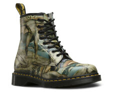 Dr.Martens William Blake 1460 8-Eyelet Multi Women Backhand Leather Boots US 7