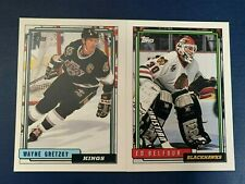 1992-93 Topps Hockey Card #s 1-250 + Rookies  - You Pick The Card