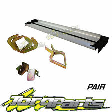 ALUMINIUM SIDE STEPS SUIT TOYOTA HILUX 05- DUAL CAB EXTRA 4X4 4X2 RUNNING BOARDS