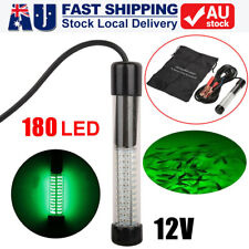 180led Green Underwater Fishing Light 12v 1000 Lumens Boat Squid Fish Prawn Ro
