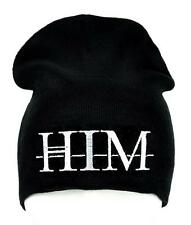 HIM Love Metal Beanie Occult Clothing Knit Cap Ville Valo Gothic Gloom Doom