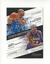 2012-13 Prestige Connections #18 Derek Fisher/Kobe Bryant Lakers