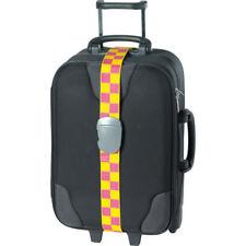 DesignGo Travel Luggage Strap Pink/Yellow 221