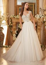 Mori Lee 5476 Size 12 GENUINE Wedding Dress Ivory With tags