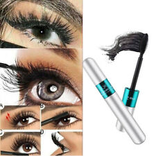 4D Silk Fiber Eyelash Extension Makeup Black Eye Lashes Waterproof f7