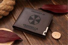 Genuine Quality Leather Wallet - Resident Evil Umbrella