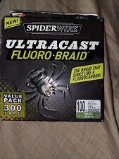 Spiderwire Ultracast Floro-Braid. 300yard. 100lb