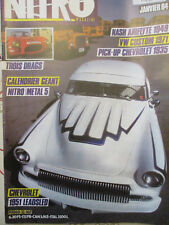 NITRO 32 JANVIER 1984: INDOCHINE - CHEVROLET - VW 1302 - DODGE - CORVETTE -