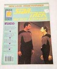 STAR TREK THE NEXT GENERATION MARVEL MAGAZINE #10 MAR 30 1991