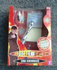 Boxed BBC10th Dr Who Sonic Screwdriver. New Retired Toy Prop - RARE