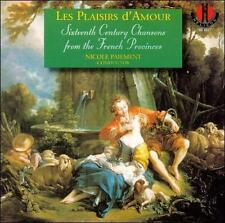 Les Plaisirs d'Amour: 16th Century Chansons from French Provinces (CD Helicon)