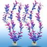 2PCS Plastic Water Plant Landscaping Aquarium Fish Tank Ornament Decorations