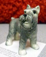 ➸ Hagen Renaker Dog Miniature Figurine Schnauzer