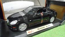 LEXUS SC 430 Noir 1/18 MAISTO 31658 voiture miniature