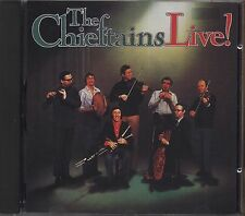 THE CHIEFTAINS - Live! - CD 1989 LIKE NEW COME NUOVO UNPLAYED