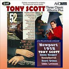 Three Classic Albums Plus (52nd St Scene / Tony Scott In Hi-Fi / The Tou...