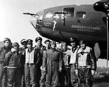 1943 MEMPHIS BELLE Boeing B-17 Aircraft Airplane Glossy 8x10 Photo Vintage Print