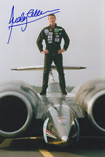 Andy Green Hand Signed Photo 12x8 ThrustSSC.