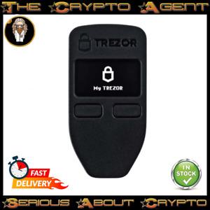 🔒Trezor One-Black-Bitcoin-Eth & Crypto Hardware Wallet🔒Authorized Reseller!