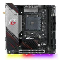 NEW! Asrock X570 Phantom Gaming-Itx/Tb3 Amd X570 Am4 Mini Itx 2 Ddr4 Hdmi Dp Wi-