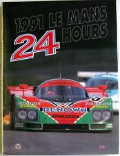 LE MANS 24 HOURS 1991 YEARBOOK / ANNUAL MOITY TEISSEDRE BOOK ISBN:0951284045