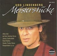 Udo Lindenberg Meisterstücke (compilation, 12 tracks, 1973-81) [CD]