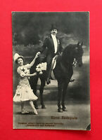 AK Zirkus Variete um 1910 Circus CARRÈ Festspiele mit Pferd   ( 54144