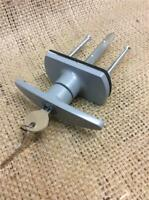 CLEARANCE LOT471742 REPLACEMENT GARAGE DOOR LOCK WITH 2 KEYS UP AND OVER DOORS
