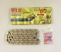 DID Gold X-Ring Chain Honda XR400 96-02 Yamaha WR250 R & X 08-15 VX 520-108
