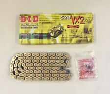 DID Gold X-Ring Chain Kawasaki ER6-F ER6-N 05-17 KLE650 Versys 07-18 VX 520-114