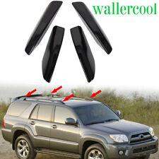 HIGH FLYING Black Roof Rails Rack Leg Cover End Cap Protection Cover Shell for Toyota 4Runner N210 2003-2009