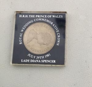 HRH Prince Of Wales Royal Wedding Commemorative Crown