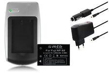 Ladegerät+Akku für Rollei Movieline DV5, P3, P5, SD5, SD40, SD55