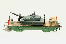 Ar.Po. Collezione Pocher (131) Panzerwagen mit Schneepflug, Vollmetall und Holz