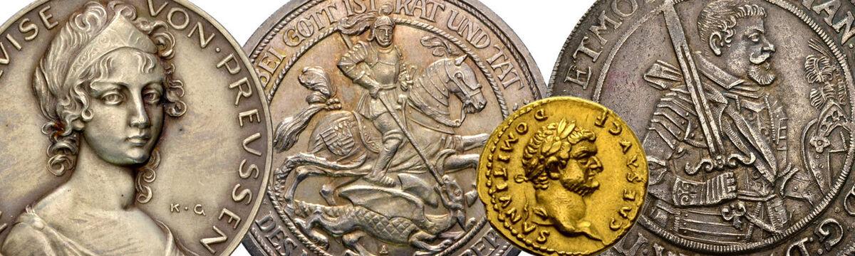 Historische Münzen & Medaillen