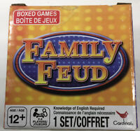 New Family Feud Boxed Card Game Family Game Night