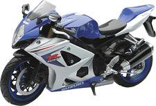 New Ray Toys 1:12 Die Cast Replica Suzuki GSXR-1000 2008 Blue 57003A