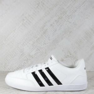 Womens Adidas Hoops VL White/Black Trainers (07C13) RRP £49.99