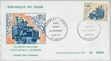 NATURE - TRANSPORT -  POSTAL HISTORY - NIGER: FDC Cover 1975